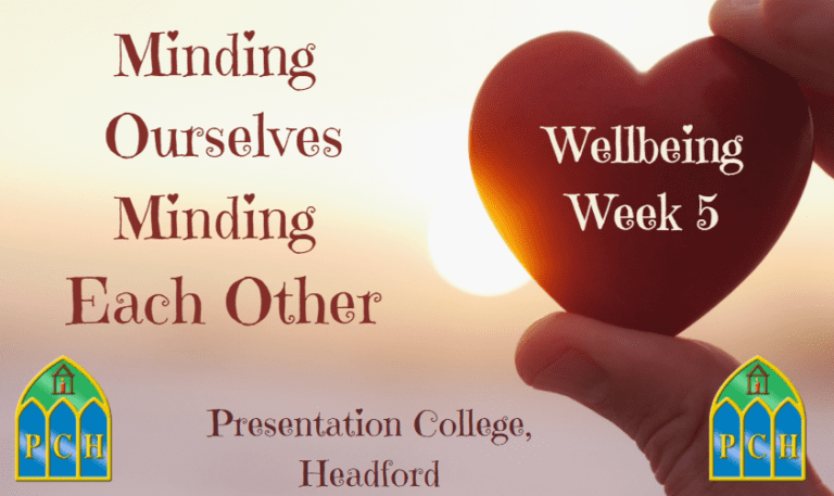 Minding Ourselves, Minding Each Other - Week 5