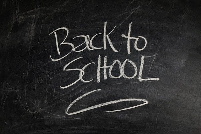 APRIL 12TH- RETURN TO SCHOOL LETTER