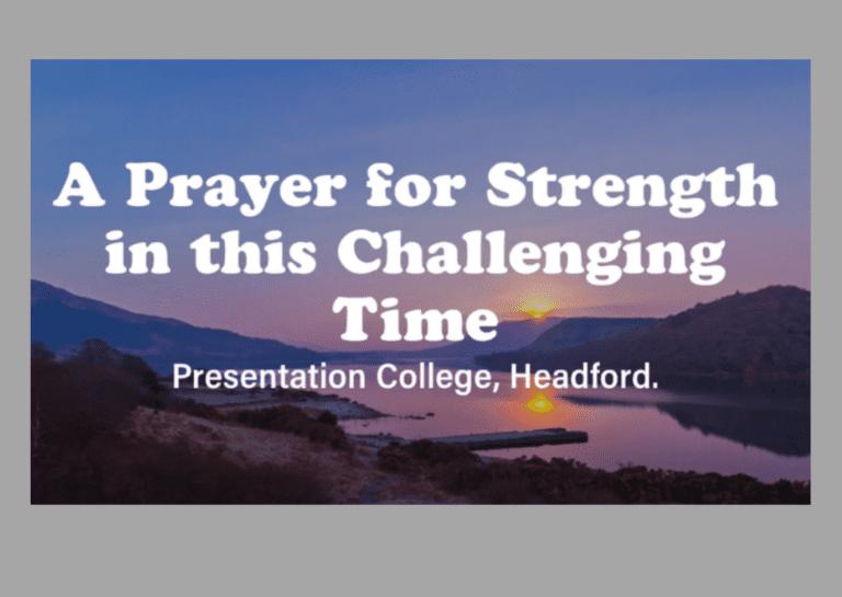 Friday Prayer - A Prayer for Strength
