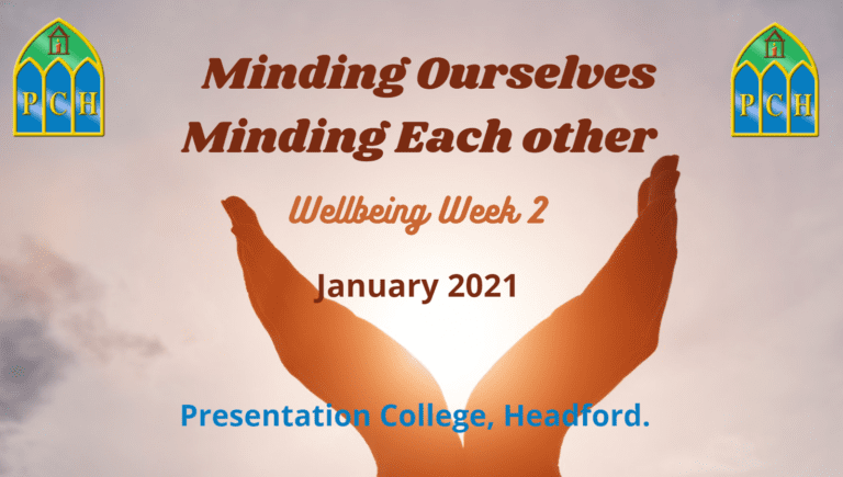 Minding Ourselves, Minding Each Other - Week 2