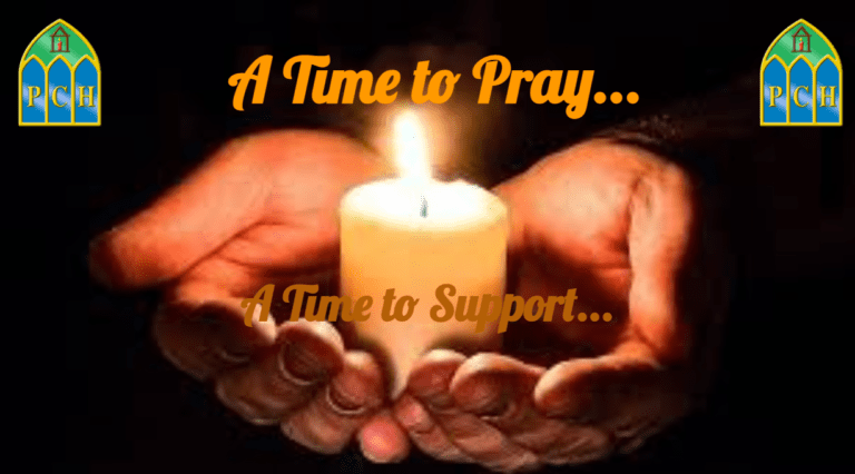 A Time to Pray, A Time to Support