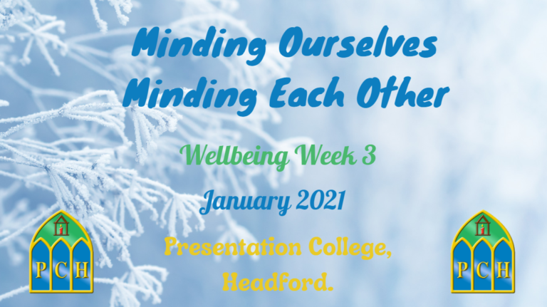 Minding Ourselves, Minding Each Other - Week 3