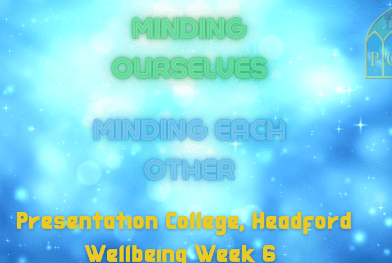 Minding Ourselves, Minding Each Other - Week 6