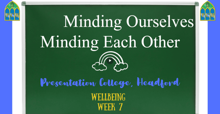 Minding Ourselves, Minding Each Other - Week 7